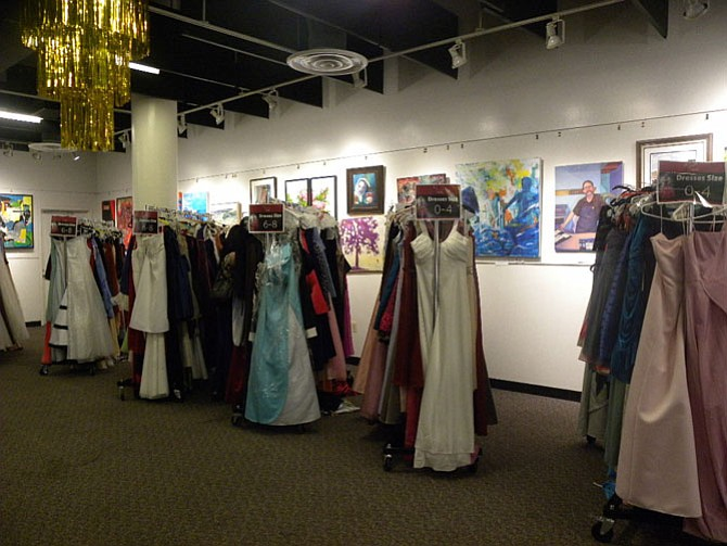 People donated dresses and accessories starting in January for the 14th Annual Diva Central Prom Dress Giveaway.