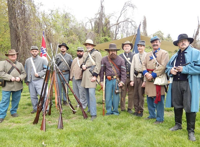 Members of Co. D, 17th Virginia Volunteer Infantry and their rifles will return again.