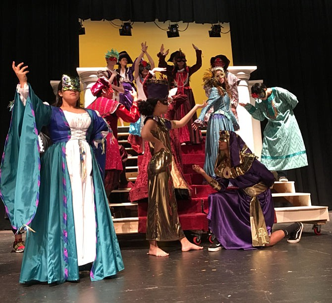 "Oakton High School is presenting Andrew Lloyd Weber's musical, ""Phantom of the Opera,"" May 12-14 at 7 p.m. at Oakton High School, 2900 Sutton Road, Vienna.  Pictured is the ""Masquerade"" dance."