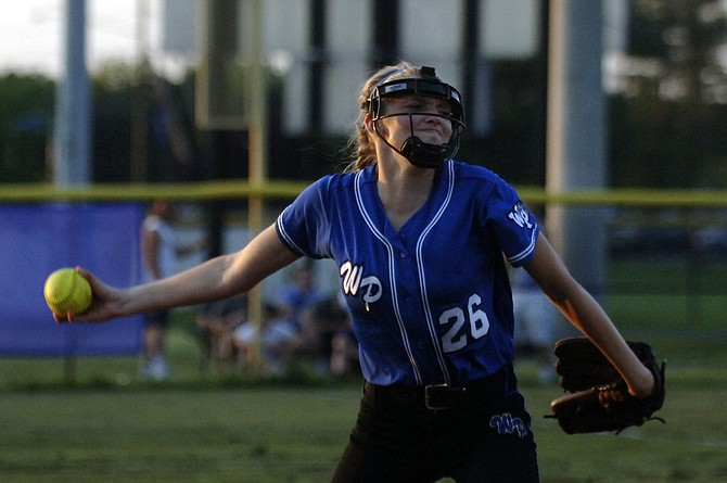 West Potomac pitcher Christina Dillard threw a complete game against Chantilly on Tuesday and earned the win in the opening round of the 6A North region tournament.