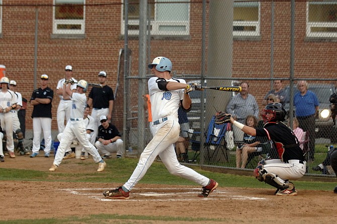 Centreville first baseman Carter Bach went 3-for-4 with a home run and four RBIs against Madison on Friday.