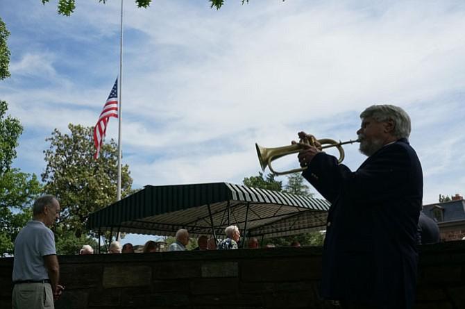 Bugler Gary Moore