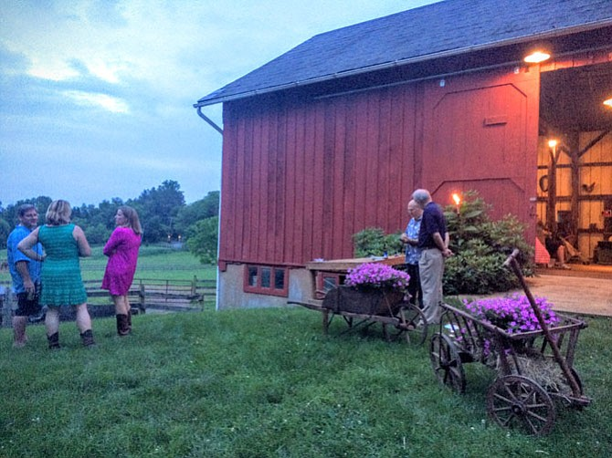 Linda Thompson said she fell in love with the barn she uses to host the Annual Barn Dance to benefit the Great Falls Optimist Club before she fell in love with the property.
