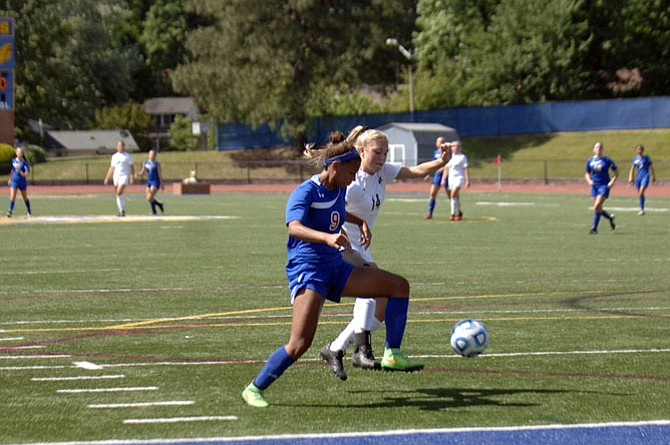 Claire Constant and the T.C. Williams girls' soccer team lost to Cox 1-0 in the 6A state semifinals on June 10.