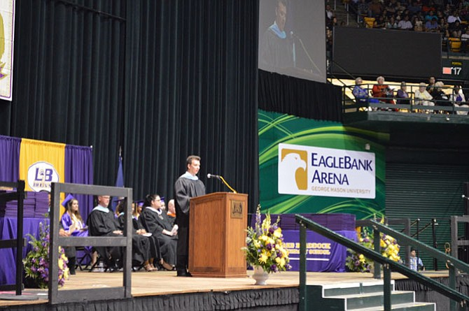Commencement speaker and AP Coordinator Richard Hoppock shares four tips with the soon-to-be graduates.