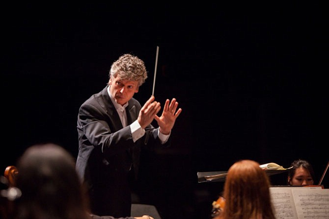 Chris Zimmerman, music director, Fairfax Symphony Orchestra