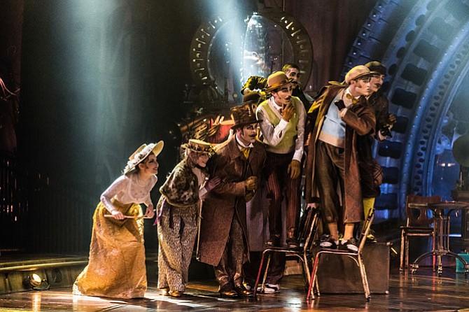 "The Curiosistanians, Cirque du Soleil ""Kurios."""