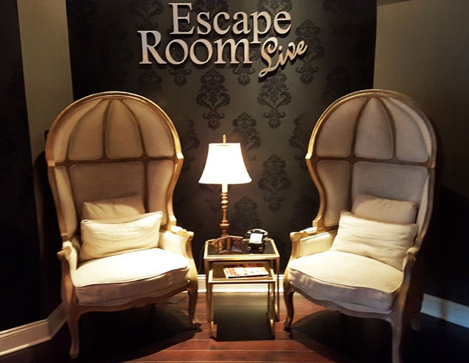 Escape Room Live is designed for participants to unlock their exit by solving puzzles.