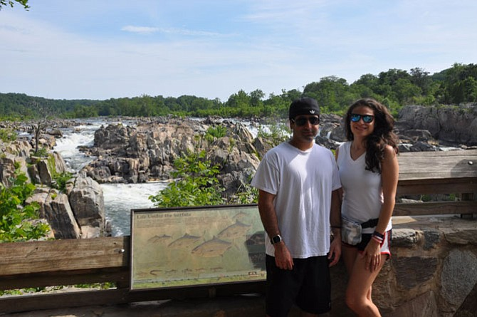 In Great Falls Park, there are three, main lookout points with unbeatable views of the falls and fifteen miles of hiking trails alongside the Potomac river.