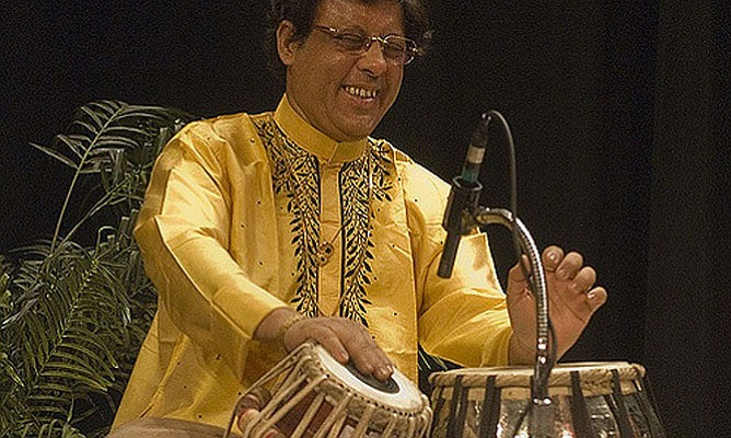 "The Washington Conservatory of Music presents ""A Celebration of North Indian Classical Music"" featuring Tabla player Pandit Anindo Chatterjee (pictured here), with Ramesh Misra and Alif Laila at 7:30 pm on Saturday, July 30  at Westmoreland Congregational UCC Church, 1 Westmoreland Circle, Bethesda. Free, $20 suggested donation. Visit www.washingtonconservatory.org for more."