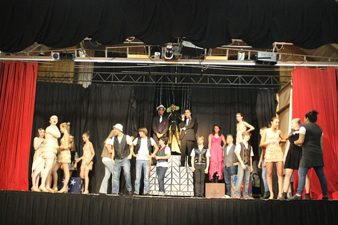 """The Vienna Youth Players' interpretation of """"Jesus Christ Superstar"""" is set against the backdrop of the 1920s."""