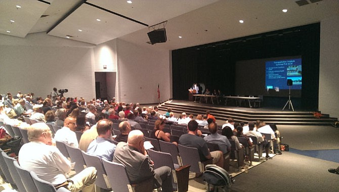 More than 200 community members came out to the second Embark Richmond Highway informational meeting held July 25 at West Potomac High School.