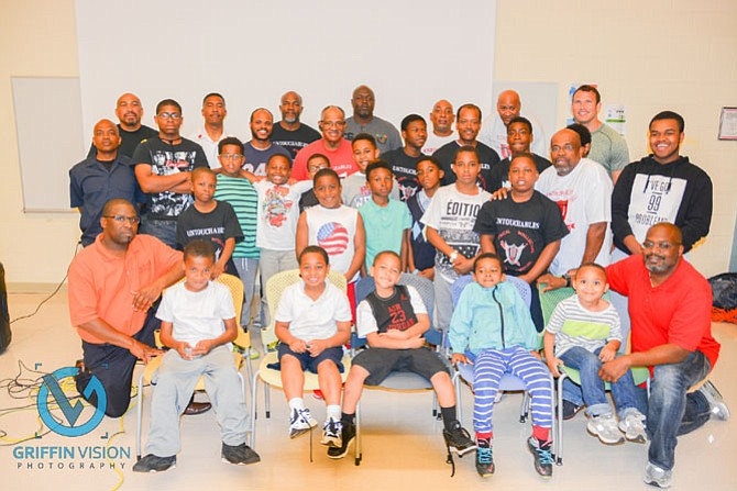 The Untouchables male youth organization of Alexandria hosted a Lock-In at the Charles Houston Recreation Center.