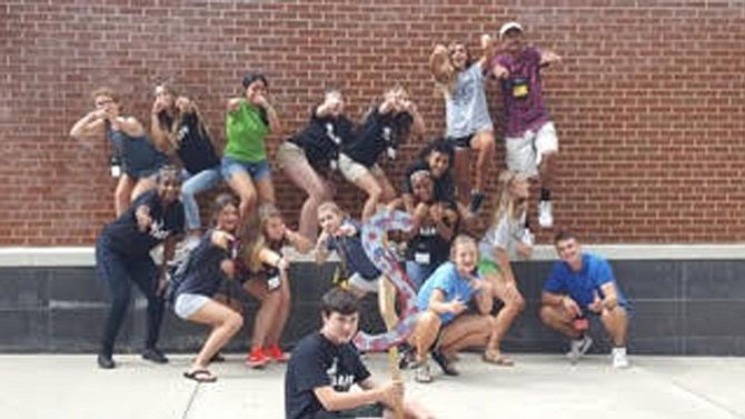 Members of the Youth Council of the Unified Prevention Coalition of Fairfax County joined students from around the state in July at the annual Youth Alcohol and Drug Abuse Prevention Project (YADAPP) at Longwood University. This is the fifth year UPC has sent its students to the annual leadership conference.