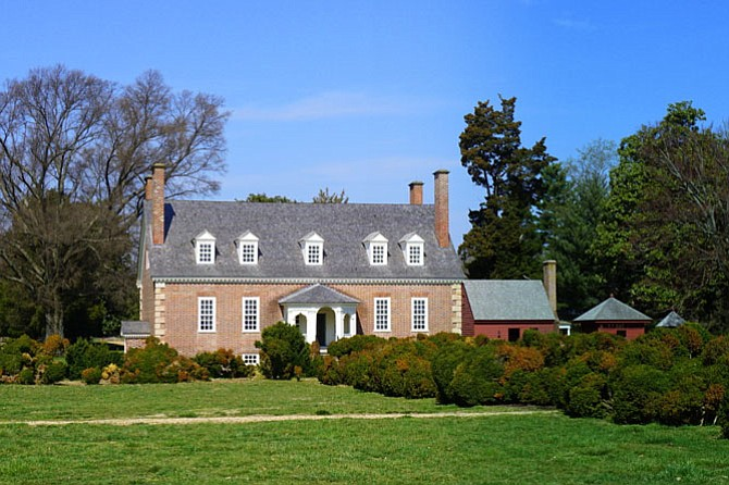 Gunston Hall, in Lorton, was the family home of Founding Father George Mason, author of the Virginia Declaration of Rights.