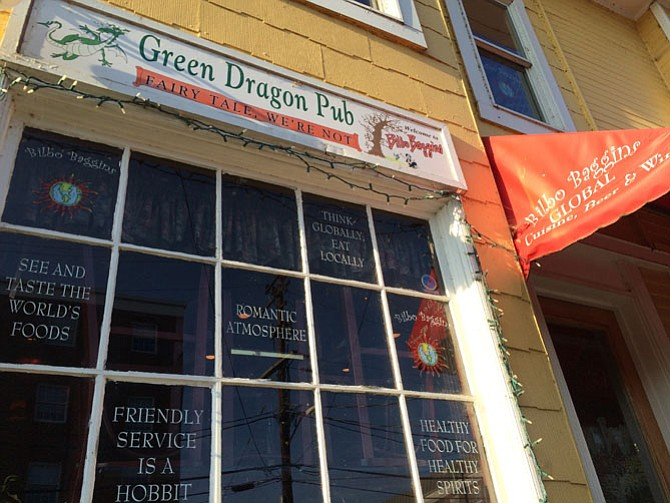 Visit the Green Dragon Pub within Bilbo Baggins Restaurant and you'll find your choice of beers, many of which can be difficult to come by (or novel to try).