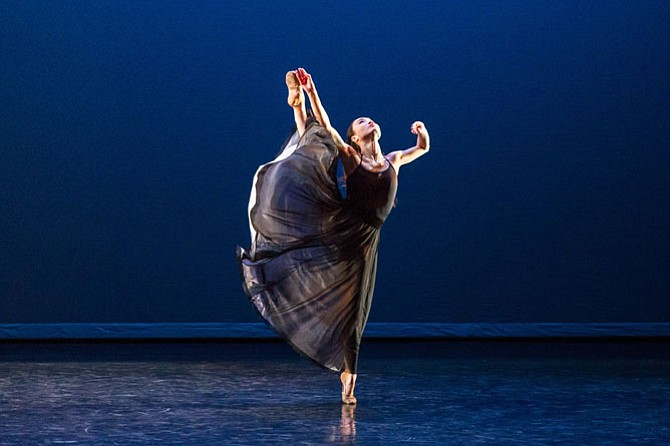 Martha Graham Dance Company in performance