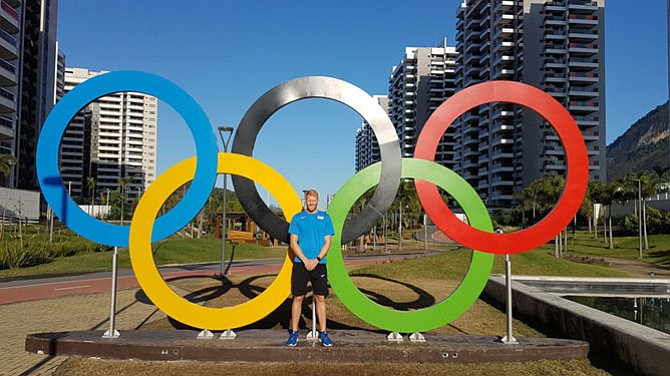 West Springfield graduate Matt Miller competed in men's four rowing at the Olympic Games in Río.