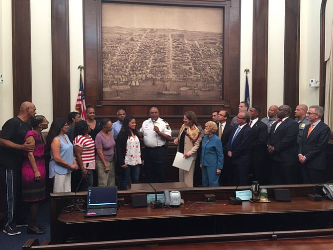 The Alexandria City Council presented Chief Earl Cook with a proclamation on Sept. 13 recognizing his service.