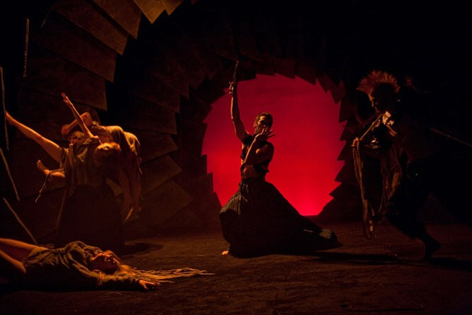 "Synetic Theater presents ""Dante's Inferno"" now through Oct. 30. in Crystal City."