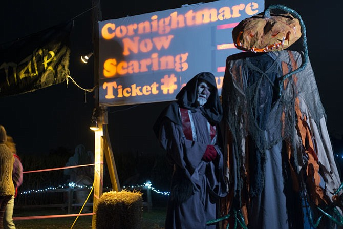 Cornightmare at Cox Farms will be part of its Fall Festival and Fields of Fear.