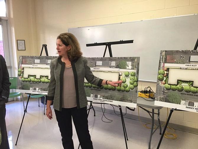 Mayor Allison Silberberg noting her preference of park usage.