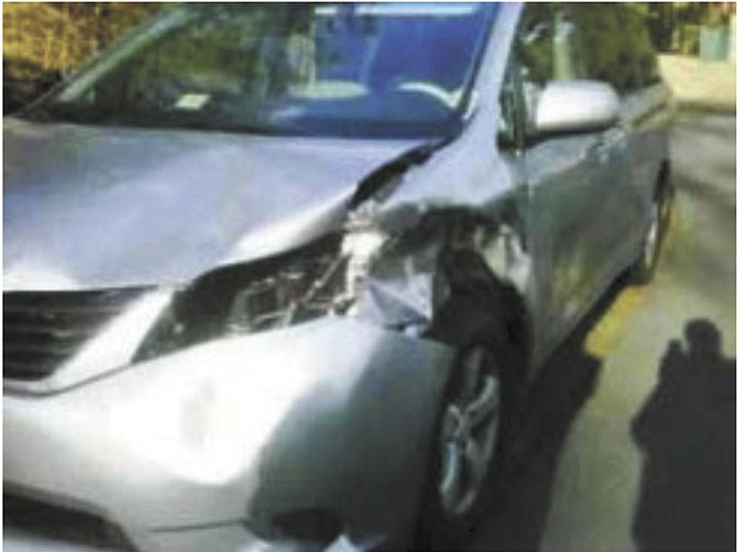 Deer-vehicle collisions can cause extensive damage/injury.