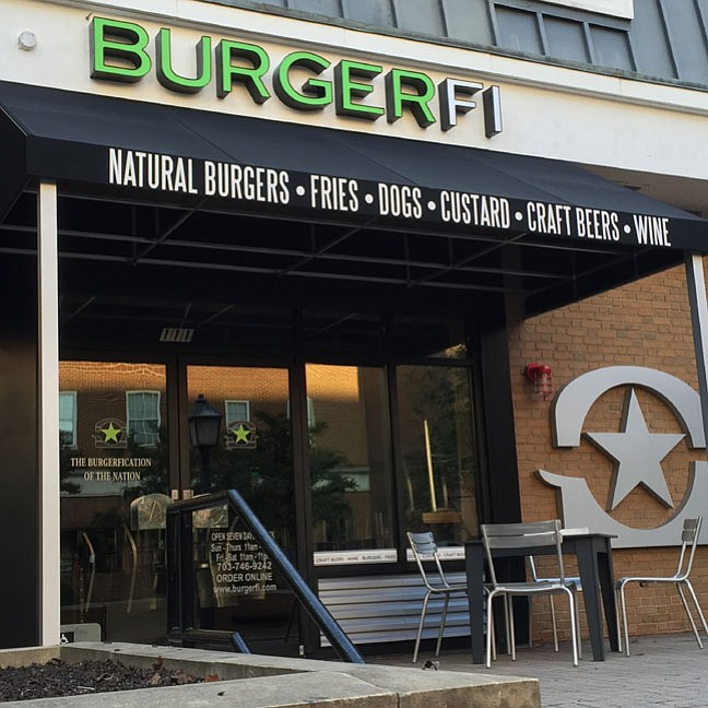 BurgerFi, which opened last week in the former location of Pat Troy's Ireland's Own, has begun to see steady business already.