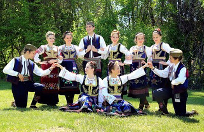 Serbian folk dancers will provide entertainment at SerbFest DC.