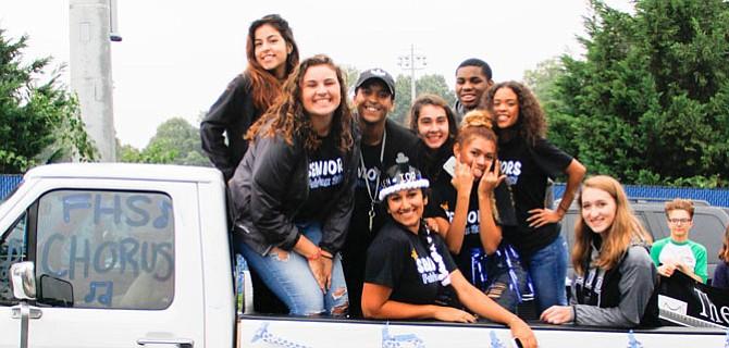 Fairfax High School Choir.