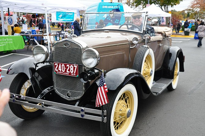Potomac Day offers residents the opportunity to see classic cars up close.