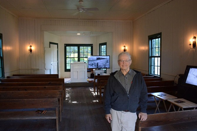 Chuck Rusnak of Clifton is now a trustee of the Clifton Primitive Baptist Church, built in 1871 and just reopened for Clifton Day for the first time in a decade.