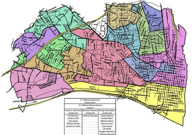 Current School District Lines