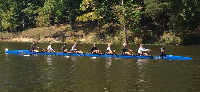 The ODBC Mens First 8 at the Oct. 9 Occoquan Challenge.