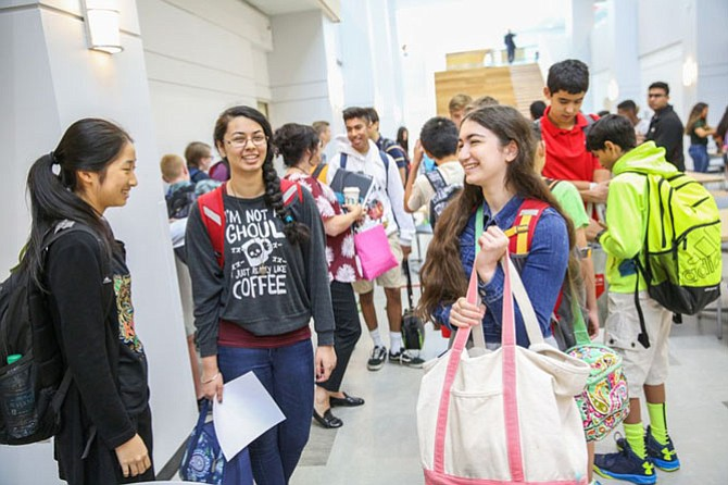 The election season offers students such as those at BASIS Independent School in McLean an opportunity to learn about the political process.