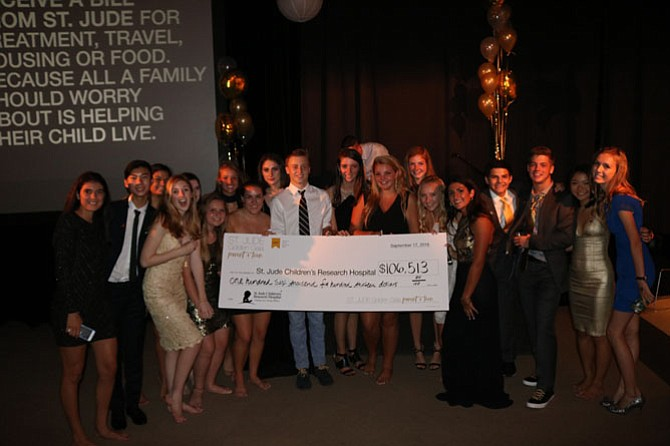 By raising $106,000, the Inaugural St. Jude Parent/Teen Golden Gala more than doubled its original goal of $50,000.