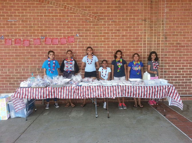 The girls range from ages 11-14 years and the team has conducted a bake sale for the past few years in order to raise funds for their team and pay for all the expenses. The team members are located in the Fairfax, Herndon, Vienna area.