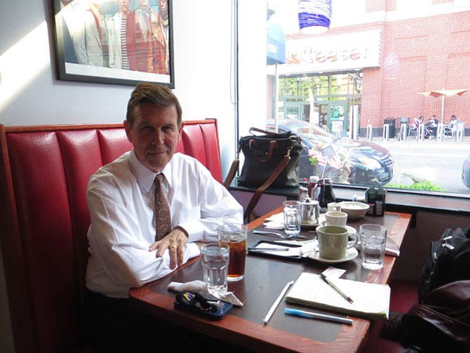 Democratic U.S. Rep. Don Beyer at The Royal Restaurant.