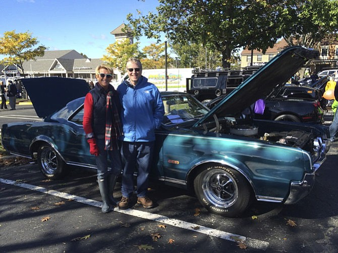 Susie and Win Redmond enjoyed showing off their 1967 Olds 442 classic car at last year's Potomac Day.