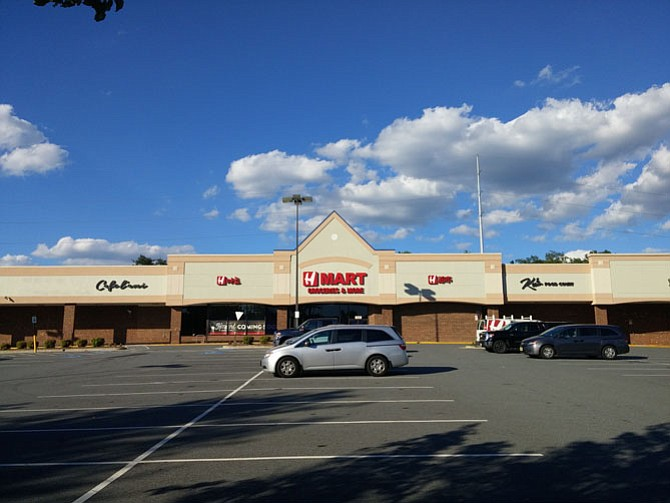 The building formerly occupied by the Giant Food supermarket in Burke Village Center will re-open Nov. 9 as Asian-inspired grocery store H Mart.