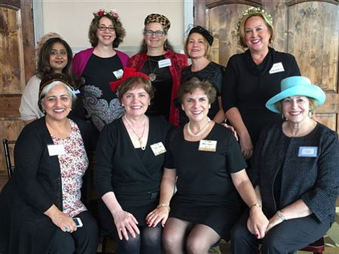 The PANC board, from left, sitting, are Anila Khetarpal, Alexa Kempel, Kathy Kurgan, and JoAnne Fink; in the next row are Anu Reddy, Suzel Lemus, Kim Belvin, Joanne Zinsmeister, and Susan Rosen. Missing are Kathryn Beckwith, Dottie White and Suzanne Lamoureux.