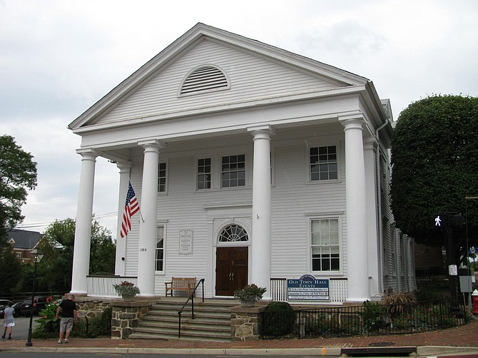 Old Fairfax City Hall