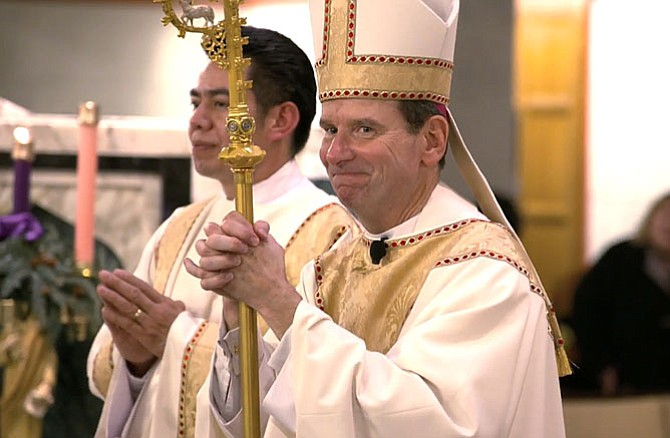 The Most Rev. Michael Burbidge is the new bishop of the Catholic Diocese of Arlington.