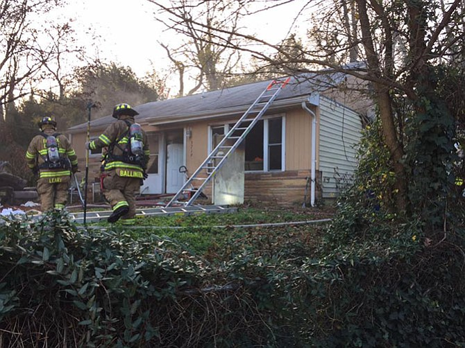 The house fire was accidental, caused by an electrical event involving a wall outlet, according to fire officials.