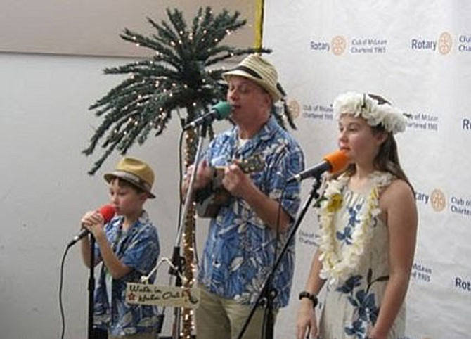 Last year's favorite, Ukulele Phil and the Hula Kids will perform again this year at McLean Chocolate Festival on Jan. 29.