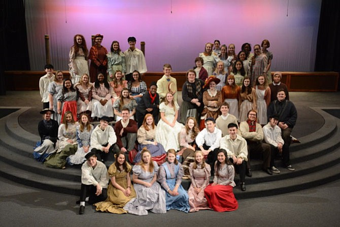 "The classic Rodgers and Hammerstein musical ""Carousel"" opens Jan. 26 at 7:30 p.m. in the Little Theatre at Lake Braddock Secondary School."