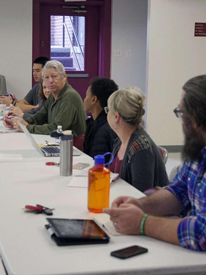 """Hunger Free Alexandria's January monthly meeting focused on progress in the fight against hunger since the release of the report in 2014 """"Toward an End to Hunger in Alexandria."""" But they agree there is much to be done and set priorities for the year ahead."""