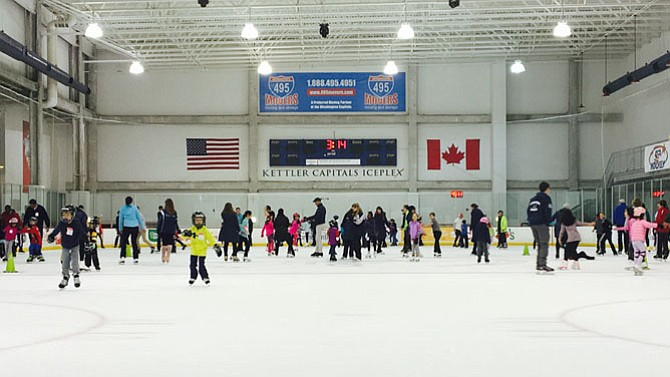 Winter is the season to visit the Kettler Capitals Iceplex. When the Washington Capitals aren't in town practicing, the skaters come out and flock to the rink at 627 N Glebe Road and take part in the winter fun.