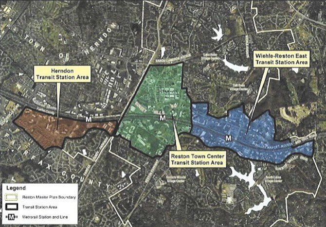Road Fund and Service District Proposed For Reston and Herndon