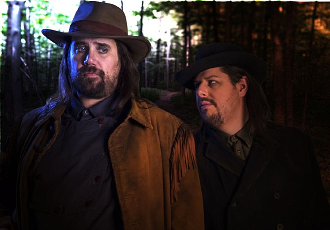 Corey Bix and Joseph Barron featured in Virginia Opera's 'The Magic Marksman.'